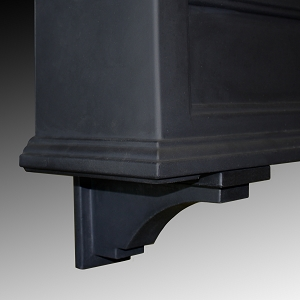 Fairfield Window Box Decorative Brackets (2 Pack)